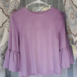 Beautiful Soft Suede Top